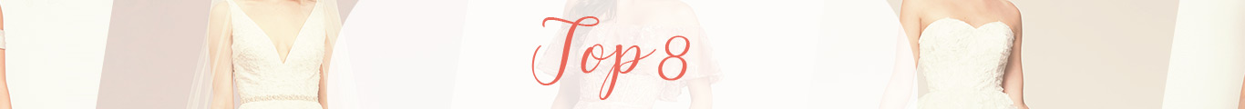 Top 8 best selling wedding & guest  dresses